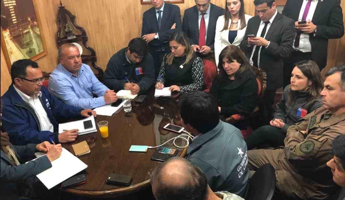 Nueva intoxicación mantiene en alerta amarilla a Quintero y Puchuncaví