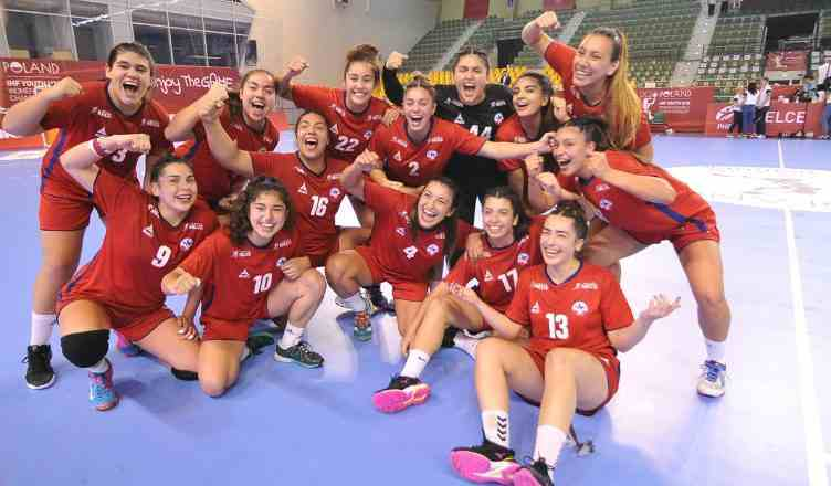 Chile debuta con un triunfo en Mundial Juvenil Femenino de Balonmano