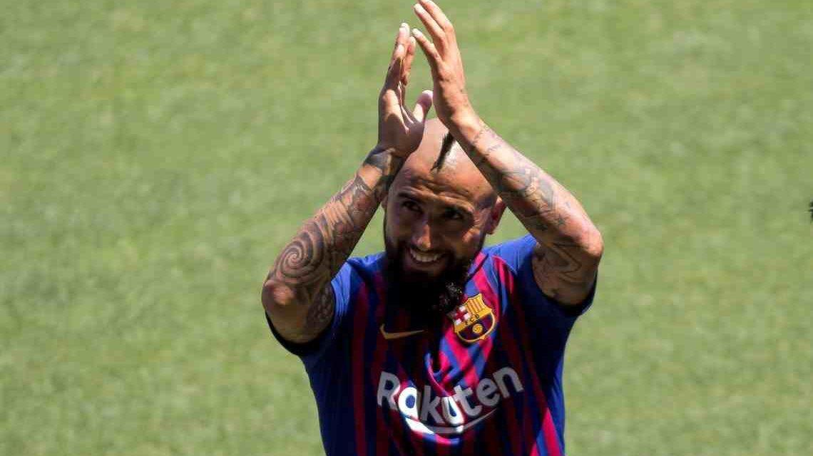"""Arturo Vidal: """"Me gané un lugar en Barcelona"""""""