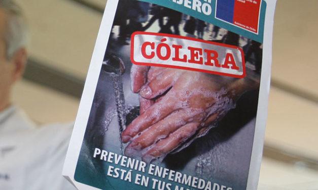A 21 ascienden los casos sospechosos de cólera en la Región Metropolitana