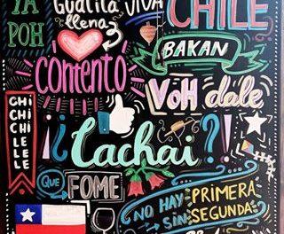 Modismos chilenos con C