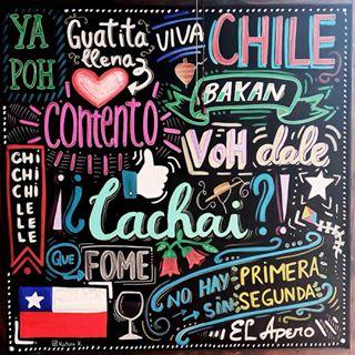 Modismos chilenos con la P