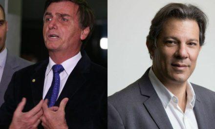 Jair Bolsonaro y Fernando Haddad a segunda vuelta en Brasil