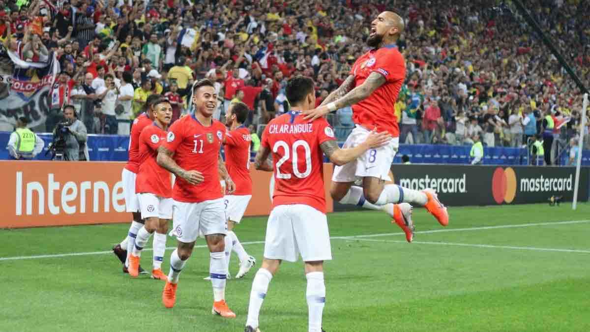 A semifinales: Chile elimina por penales a Colombia