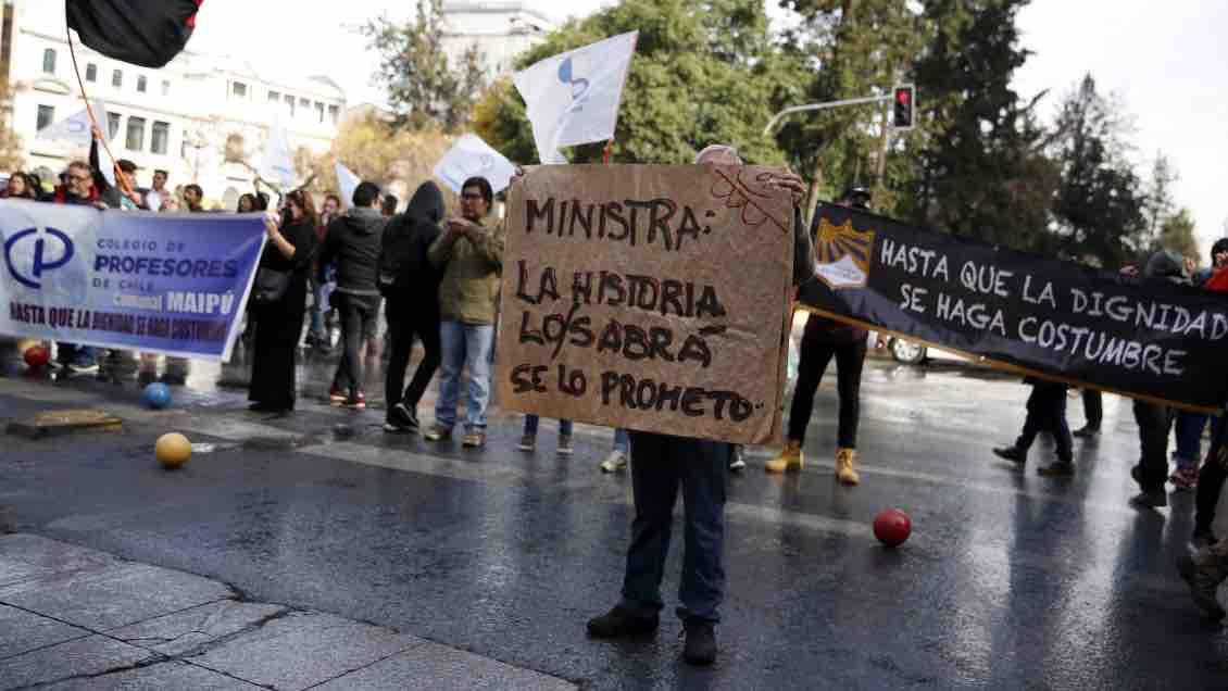 El paro sigue: Colegio de Profesores confirma rechazo a la propuesta del Gobierno