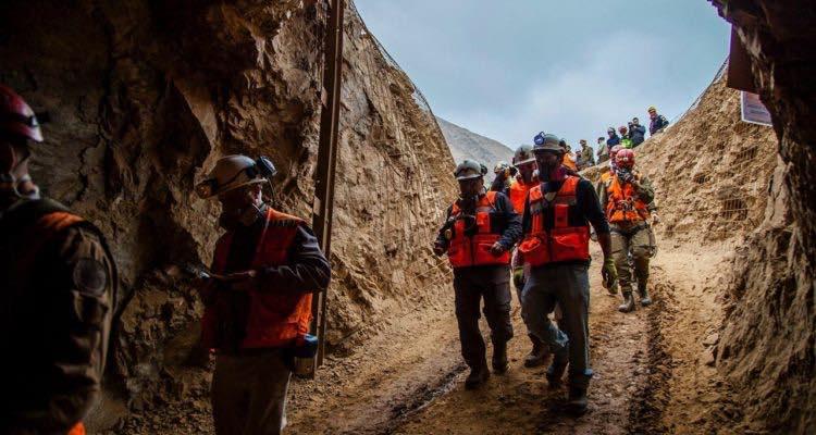 Gobierno confirma rescate de uno de los mineros atrapados en Tocopilla