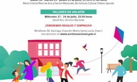 VACACIONES DE INVIERNO EN EL ARCHIVO NACIONAL