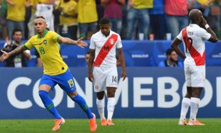 Brasil supera a Perú y deja la Copa América en casa