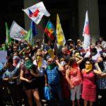 """Marginaciones y disputas por el protagonismo amenazan la """"Unidad Social"""""""